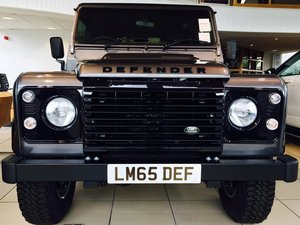 2015 Land Rover Defender 90 Landmark TD at ACA 25th January