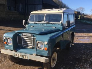 1983 Landrover Series 3  For Sale