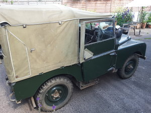 1951 Land Rover Series 1 Time for some new adventures