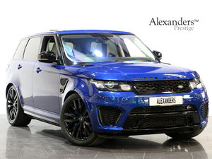 2015 15 65 RANGE ROVER SPORT SVR 5.0 V8 SUPERCHARGED AUTO For Sale