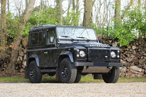 2015 Land Rover Defender 90 Autobiography No reserve For Sale by Auction