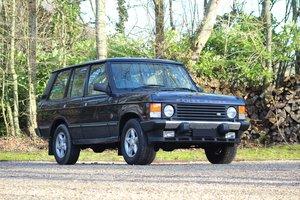 1996 Range Rover Classic Vogue SE édition 25ème anniversaire