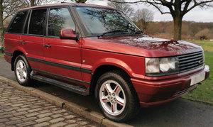 2001 Range Rover Bordeaux 2.5 TD P38 - Pristine example For Sale
