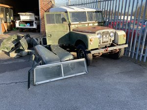 1953 Land Rover hard top 86 inch