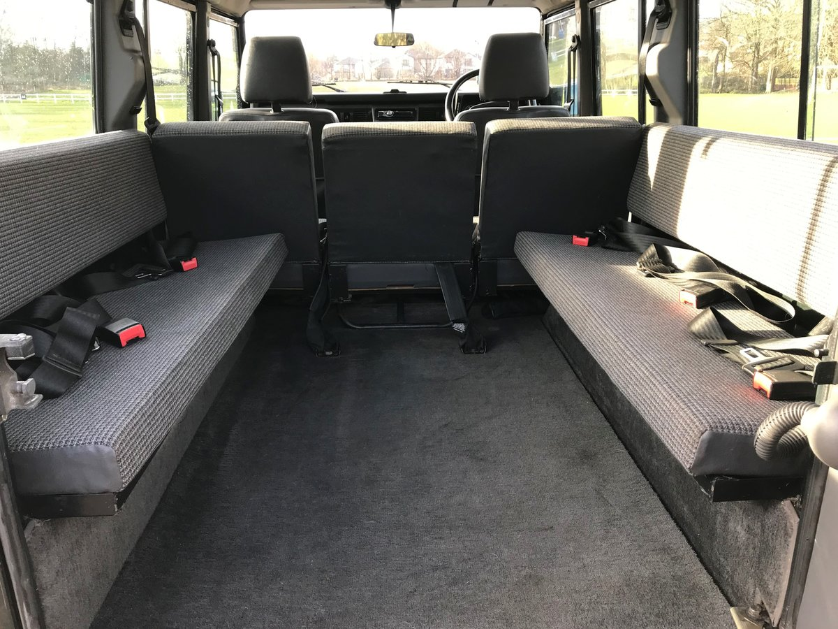 1994 DEFENDER 110 COUNTY SW 300 Tdi 12 SEATER **USA EXPORTABLE** For Sale (picture 4 of 6)