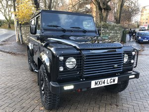 2014 Defender 90 XS Factory Left Hand Drive Black Pack ONE OWNER