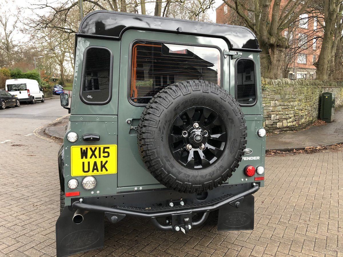 2015 ONE Owner Heritage Keswick Green Black Pack 110 XS  For Sale (picture 2 of 6)