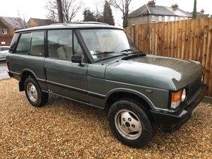 1986 Range Rover Classic Two Door LHD 3.5 V8