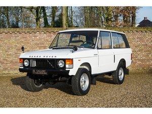 1975 Land Rover Range Rover 3.5 V8 Classic 3-Door fully restored,