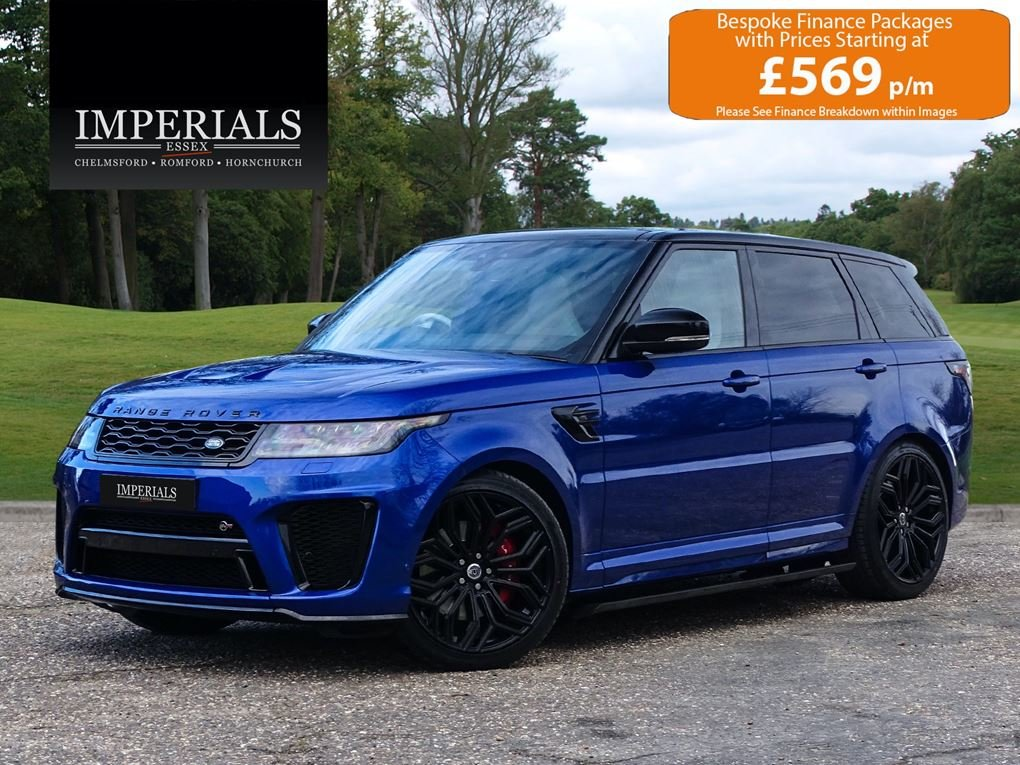 Land Rover  RANGE ROVER SPORT  SVR 5.0 V8SUPERCHARGED 2018 M For Sale (picture 1 of 24)