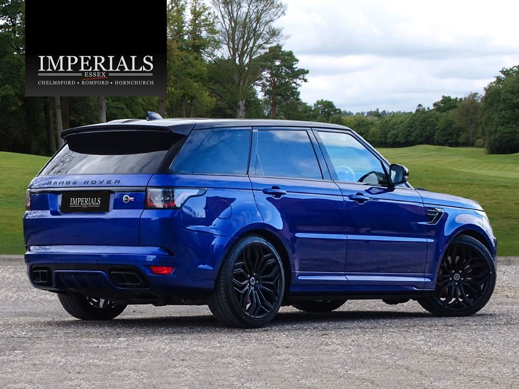 Land Rover  RANGE ROVER SPORT  SVR 5.0 V8SUPERCHARGED 2018 M For Sale (picture 4 of 24)
