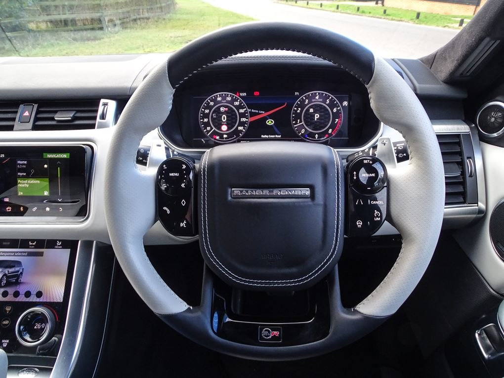 Land Rover  RANGE ROVER SPORT  SVR 5.0 V8SUPERCHARGED 2018 M For Sale (picture 7 of 24)
