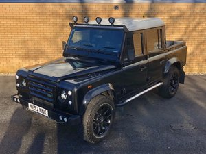 2003 LAND ROVER DEFENDER 110 Double Cab // TD5 2.5L  For Sale