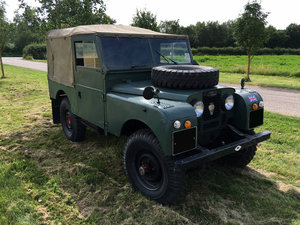 """1956 Land Rover Series 1, 86"""""""