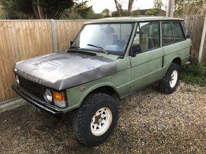 1981 Range Rover Classic Two Door LHD V8