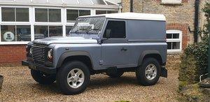 Land Rover Defender. 90. Hard Top. 22,000 miles FSH.