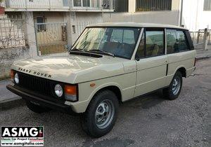 1977 Range Rover Classic 3 Door