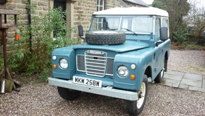 1980 Land Rover series Three SWB For Sale