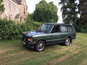 1993  Lot 10 - A  Range Rover Vogue SE four door classic
