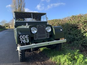 1952 Land Rover Series One 1 80""