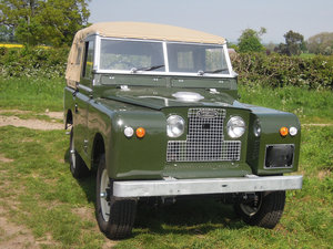 1959 Land Rover Series 2 Petrol Fully Restored For Sale