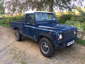 Lot 22-A 1998 Land Rover 110 High Capacity pickup-09/2/2020 For Sale by Auction