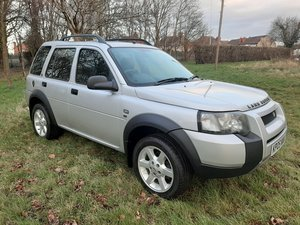 2005  LANDROVER FREELANDER SE TDI 5DOOR MANUAL
