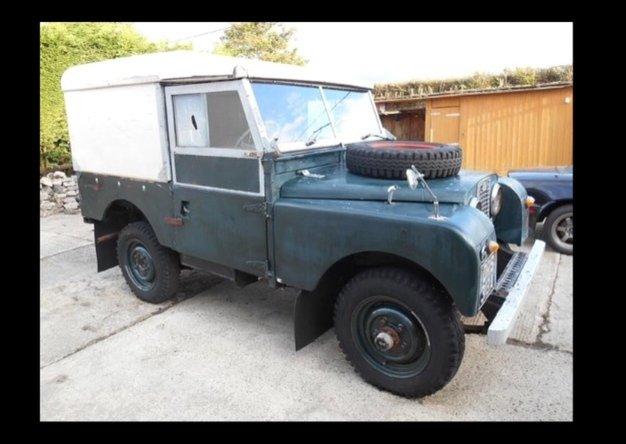 1958 Land Rover Series 1, Barn find, Undergoing restoration For Sale (picture 1 of 3)