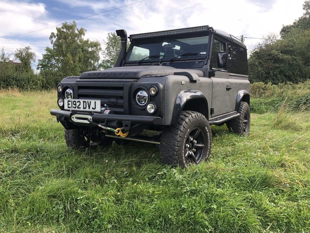 1987 Land Rover Defender 90 - Fully Loaded Factory V8 For Sale (picture 1 of 6)