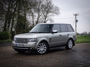 2009 Land Rover  RANGE ROVER  5.0 V8 SUPERCHARGED AUTOBIOGRAPHY A