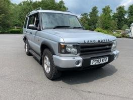 2003 Land Rover Discovery TD5 GS Auto For Sale by Auction