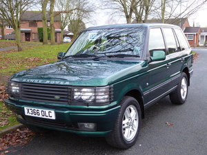 2000 Range Rover 30th Aniversary P38 Limited Edition  For Sale