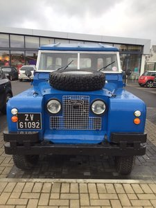 1965 Land Rover Series  2A  diesel - fully restored
