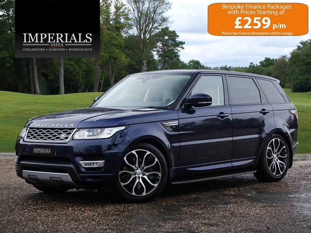 Land Rover  RANGE ROVER SPORT  3.0 SDV6 HSE 2017 MODEL EU6 8 For Sale (picture 1 of 24)