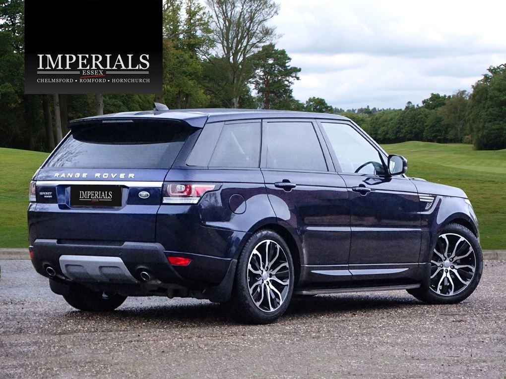 Land Rover  RANGE ROVER SPORT  3.0 SDV6 HSE 2017 MODEL EU6 8 For Sale (picture 4 of 24)