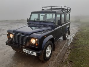 1999 Land Rover Defender TD5 County 110. 92,000 miles