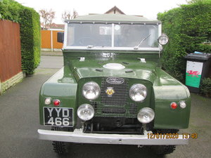 1957 Series 1   88 Land Rover  For Sale