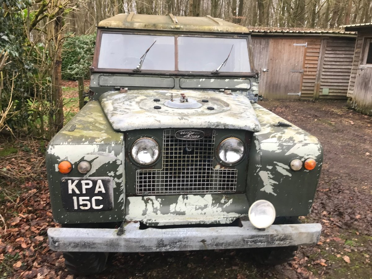 1965 Land Rover Series 2a IIa 109 SOLD (picture 1 of 6)