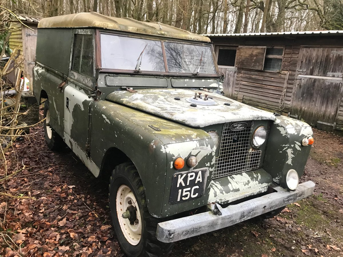 1965 Land Rover Series 2a IIa 109 SOLD (picture 3 of 6)
