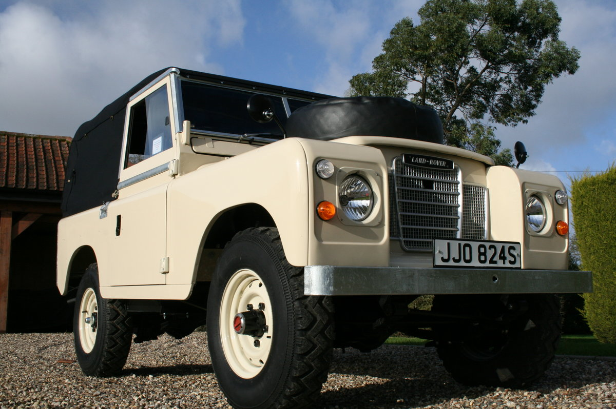 1978 Land Rover 88. Concours Condition.  For Sale (picture 1 of 6)