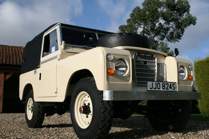 "1978 Land Rover 88"" Series III.Exceptional Throughout For Sale"