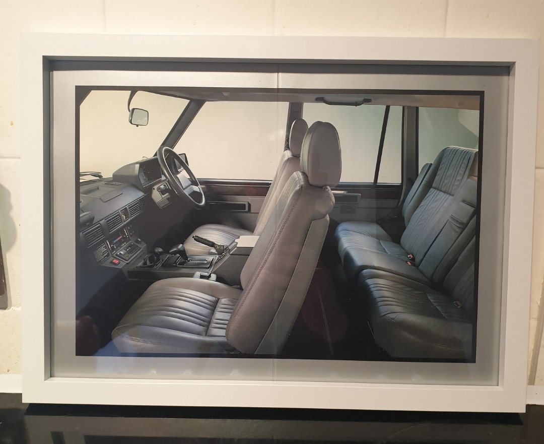 1988 Original Range Rover Framed Advert For Sale (picture 1 of 2)