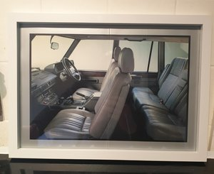 Original Range Rover Framed Advert