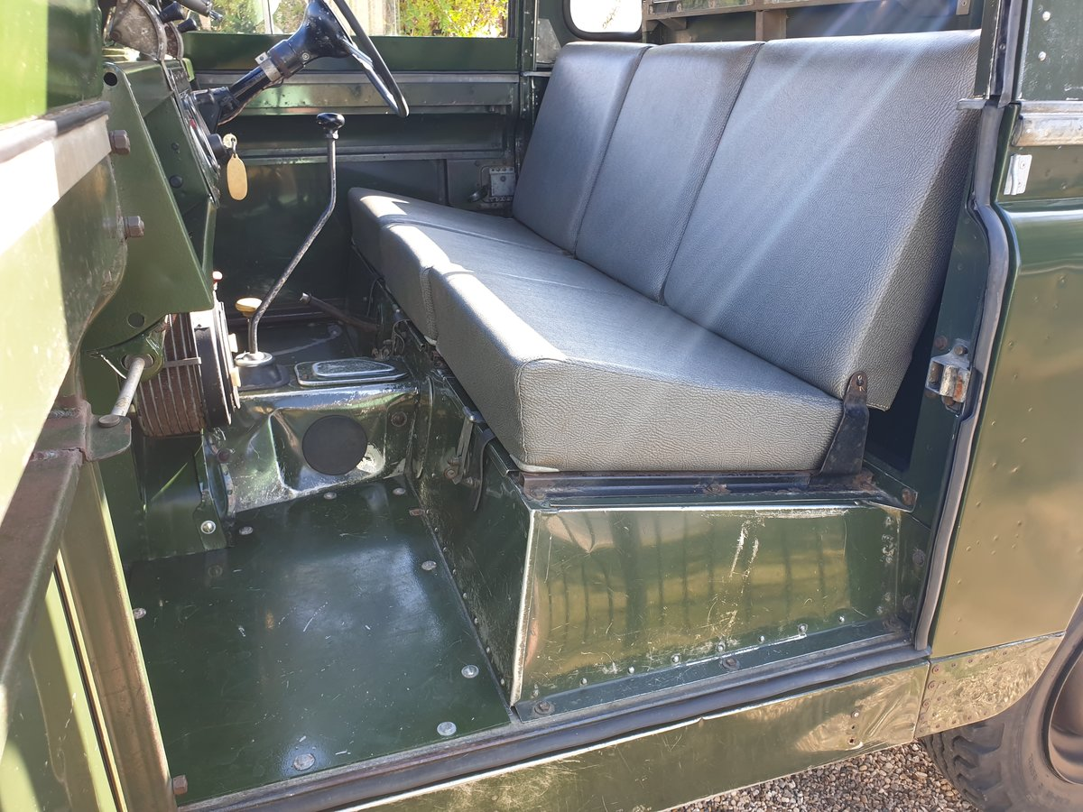 1960 Land Rover Series II 2 prev owners & matching no's SOLD (picture 3 of 6)