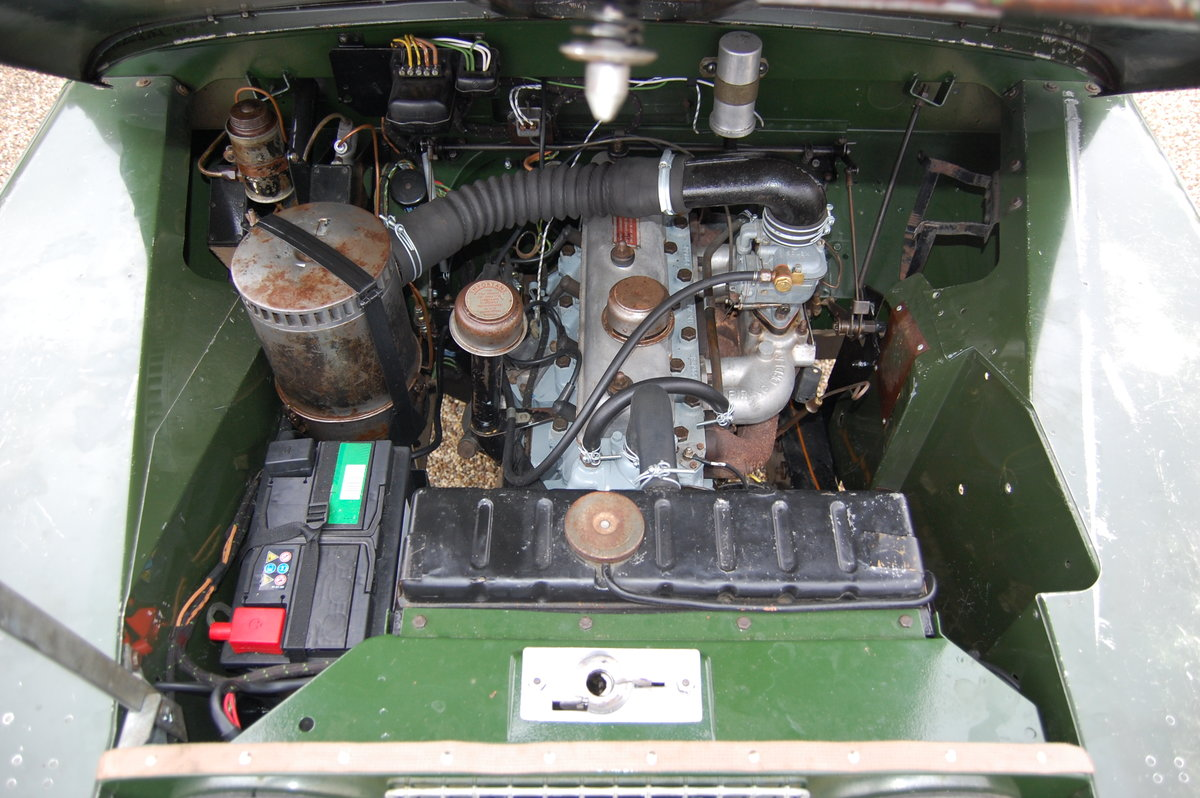 1960 Land Rover Series II 2 prev owners & matching no's SOLD (picture 4 of 6)