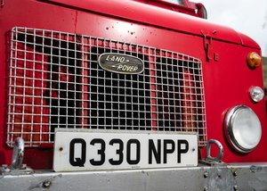 1968 Land Rover Series IIa Firefly Fire Engine For Sale by Auction