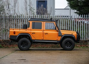 2009  Land Rover Defender 110 Double Cab Pick-up For Sale by Auction