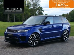 2017 Land Rover  RANGE ROVER SPORT  SVR 5.0 V8 SUPERCHARGED AUTO  For Sale