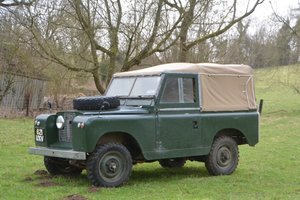 1962 Land Rover Series IIA 88  For Sale by Auction