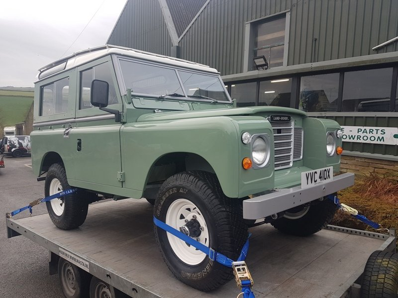1982 LAND ROVER SERIES 3 SWB PETROL STATION WAGON For Sale (picture 1 of 6)